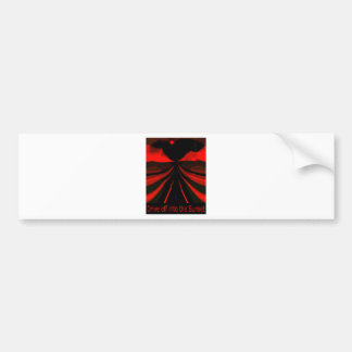 Drive Of Into The Sunset Bumper Sticker