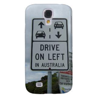 Drive On Left in Australia Sign HTC Vivid Cases