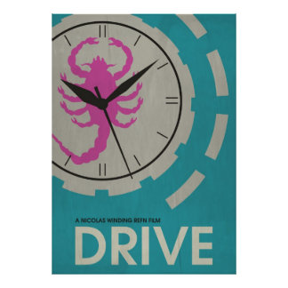 Drive - Original Minimalist Movie Poster