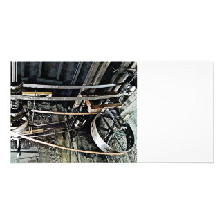 Drive Shaft Personalized Photo Card