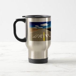 Drive the Desert Road Coffee Mug