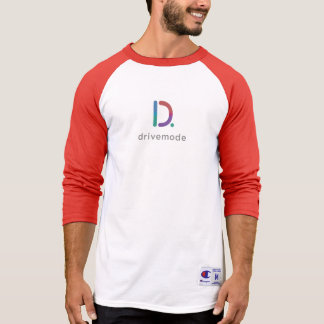 Drivemode Colour Champion 3/4 Sleeve Raglan T-Shirt