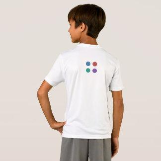 Drivemode Dots Kids' Sport-Tek Competitor T-Shirt