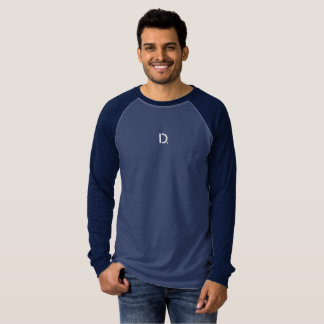 Drivemode Men's Canvas Long Sleeve Raglan Shirt