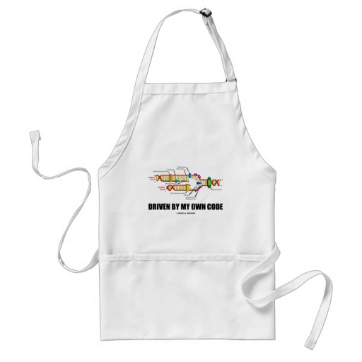 Driven By My Own Code (DNA Replication) Apron