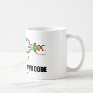 Driven By My Own Code DNA Replication Coffee Mug