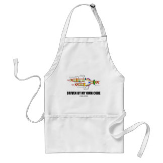Driven By My Own Code (DNA Replication) Standard Apron