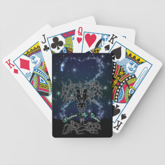 driven by stars playing cards