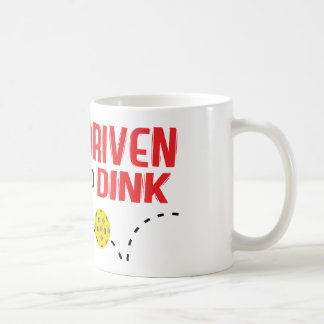 """Driven to Dink"" Pickleball Mug"