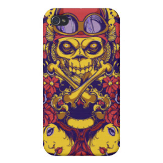 Driver skull iphone Case Covers For iPhone 4