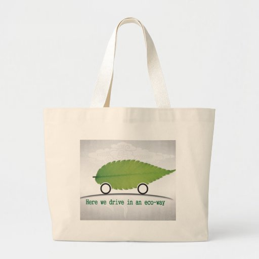 driving a car in an eco-friendly way bag
