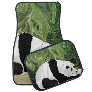 Driving at Panda Pace Floor Mat