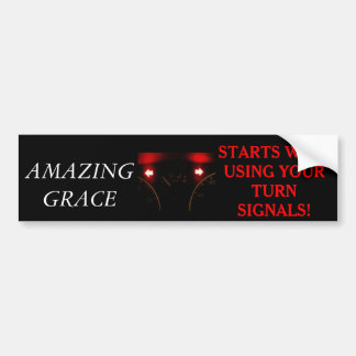 DRIVING BUMPER STICKER