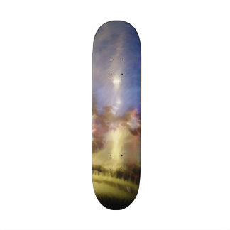 driving in a car skateboard decks