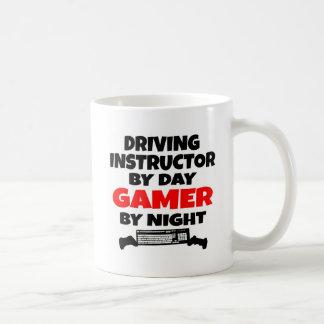 Driving Instructor Gamer Basic White Mug