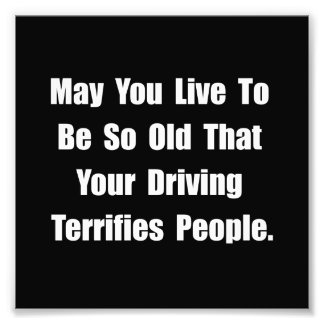 Driving Terrifies Photograph
