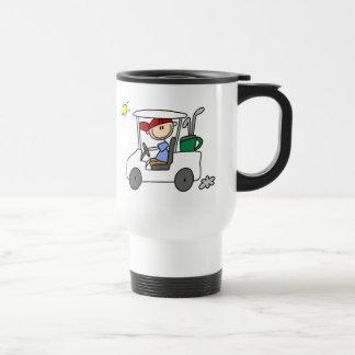 Driving The Golf Cart Mug