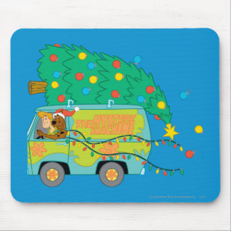 Driving While Merry Mouse Mat
