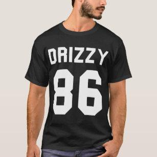 b49c5d52c155c4 Drizzy Drake printing front of cotton unisex Drake T-Shirt