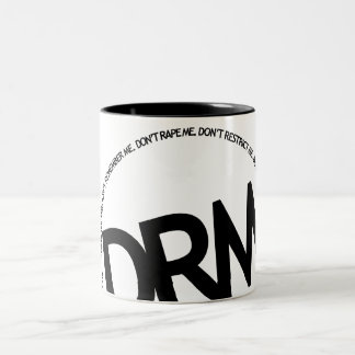 DRM: Don't Restrict Me Coffee Mugs