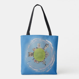 drobeta turnu severin tiny planet romania architec tote bag