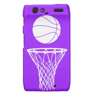 Droid RAZR Case-Mate Bball Silhouette Purple