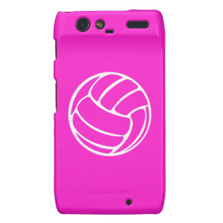 Droid RAZR Case-Mate Dig Silhouette White Pink