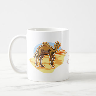 Dromedary Camel Mugs - Text Optional