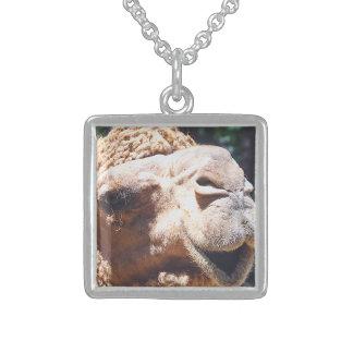 Dromedary One Hump Camel Face Closeup Custom Necklace