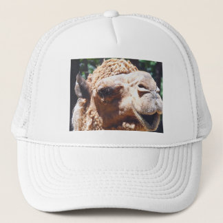 Dromedary One Hump Camel Face Closeup Trucker Hat