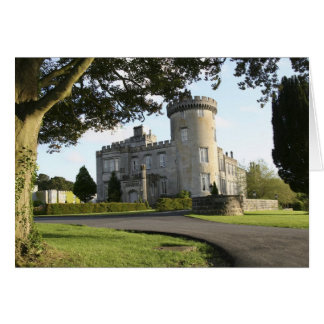 Dromoland Castle side entrance with no people Card