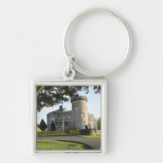 Dromoland Castle side entrance with no people Key Ring