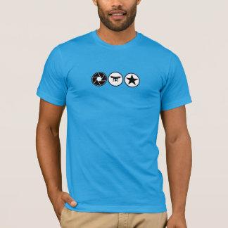 Drone Aerial Photographer PHANTOM USA Hi Viz T-Shirt
