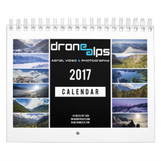 Drone Alps 2017 Calendars