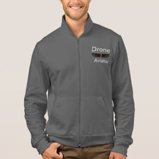 Drone Aviator fleece jogger Jacket
