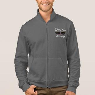 Drone Aviator fleece jogger Printed Jackets