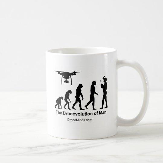 Drone Evolution of Man Coffee Mug