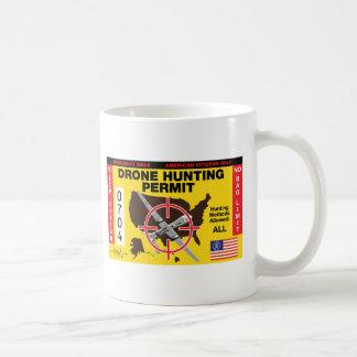 Drone Hunting Permit Coffee Mug