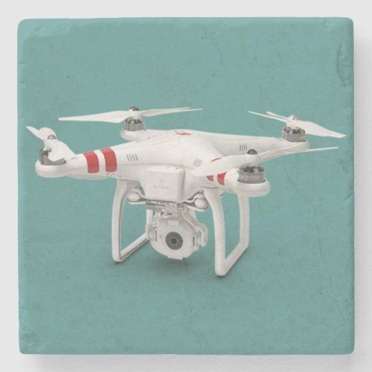 Drone phantom stone coaster