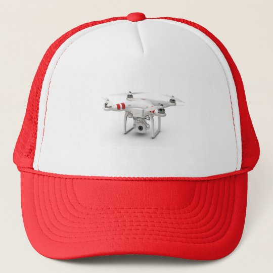 Drone phantom trucker hat