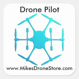Drone Pilot Stickers