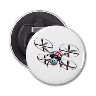 Drone quadrocopter bottle opener