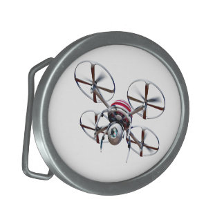 Drone quadrocopter oval belt buckles