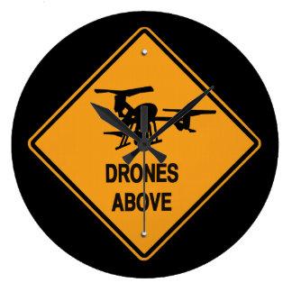 drones above clock