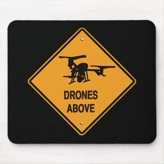 drones above mouse mat