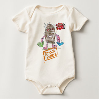 Drool Rules Scrap Kins Organic Baby Bodysuit