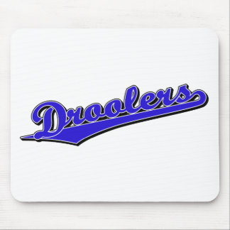 Droolers in Blue Mouse Pad