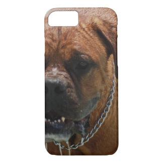 Drooling Bordeaux Mastiff iPhone 7 Case