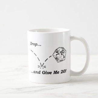 Drop and give me 20! - mug