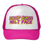 Drop Bass - Melt Face Cap